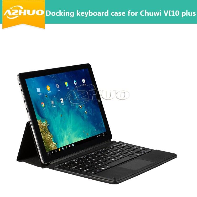 """Prix pour 2016 Mode D'accueil clavier cas pour 10.8 """"CHUWI Vi10 plus tablet pc pour CHUWI hi10 plus couvercle du clavier langue locale mise en page"""