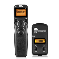 Pixel Shutter Release Cords T9 DC0/DC2 LCD Wired/Wireless Timer Remote Control