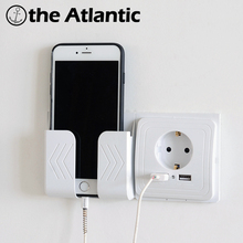 Dual Usb-poort Wall Charger Adapter Opladen 2A Wall Charger Adapter EU Plug Socket Stopcontact Panel Geaard Elektrische(China)