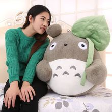 creative Lotus leaf style about 40cm totoro plush toy soft pillow,birthday gift w5230