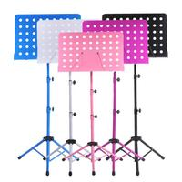 High Quality Metal Folding Music Shelf Can Be Raised Lowered Music Stand Holder Musical Instrument Accessories Music Stand GP62