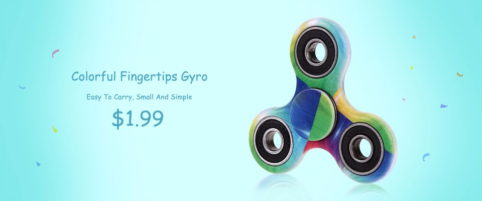 Perfect Hand Spinner Rainbow Brass Tri-Spinner EDC Fidget Spinner Focus Toy Fingertip Gyroscope For ADD and Autism Stress Relief