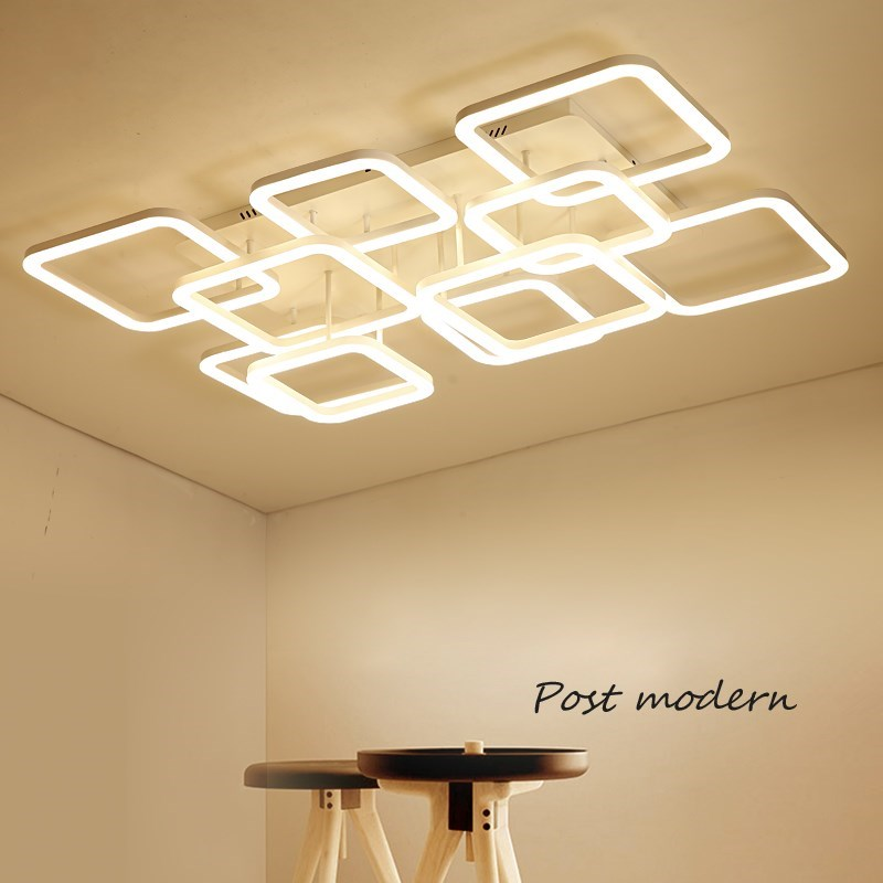 Indoor Lighting Modern Led Ceiling Lights For Bed room Living room Light Fixture Square Ceiling Lamp Led Lustre lampara de techo the taste of home cooking cold dishes stir fried dishes and soup chinese home recipes book chinese edition step by step