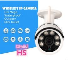 Cámara IP inalámbrica 720 P HD tarjeta SD wifi ourdoor impermeable Mega ENVÍO APP Alarma Onvif IR-CUT de La Visión Nocturna de Red P2P grabación
