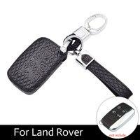 ATOBABI Da Chính Hãng Sợi Nhỏ Da Trường Hợp Fob Chính Cho Jaguar Land Rover Ranger Rover Thể Thao Evoque Freelander 2 Discovery
