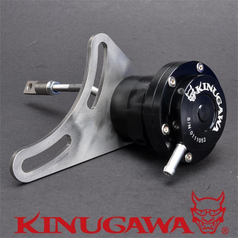 Kinugawa Adjustable Turbo Wastegate Actuator for Nissan SD33-T Patrol HT15-B / HT15-2 1.0 bar / 14.7 Psi