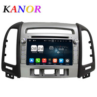 KANOR 1024 600 Octa Core Android 6 0 Car DVD Player For Hyundai Santa Fe 2006
