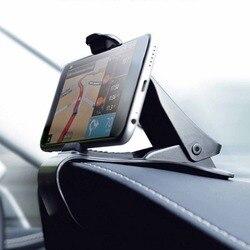 Najnowszy uniwersalny uchwyt regulowany uchwyt na GPS HUB Dashboard uchwyt do telefonu Smartphone nawigacja GPS czarny wspornik do uchwytu samochodowego|Stojaki GPS|   -
