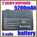 A32-f82 a32-f52 l0690l6 l0a2016 jigu nueva batería del ordenador portátil para asus k40 k40e F82 F83S K6C11 F52 K50 K51 K60 K61 K70 P50 P81 X65