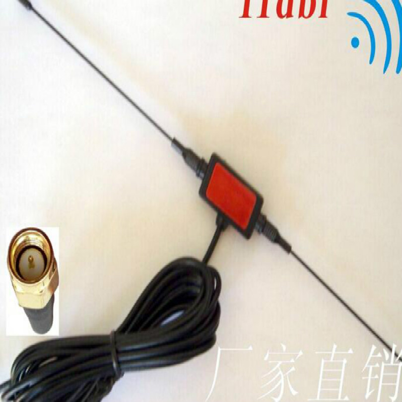FREE SHIPPING car antenna car digital <font><b>tv</b></font> antenna antena <font><b>tv</b></font> digital para <font><b>carro</b></font> SMA HEAD without power image