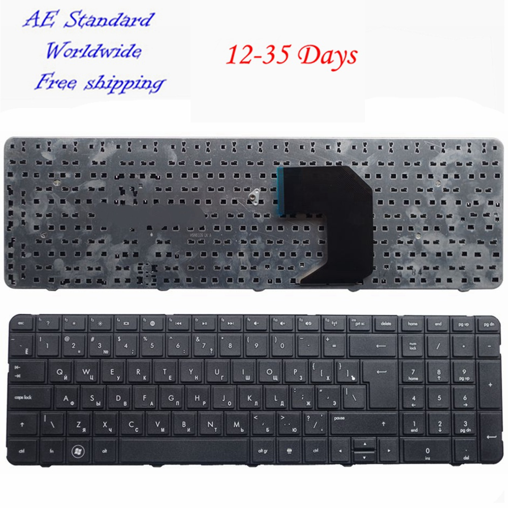 Russian Laptop Keyboard FOR HP For Pavilion G7-1000 G7-1100 G7-1200 G7 G7T R18 G7-1001 G7-1222 RU Black