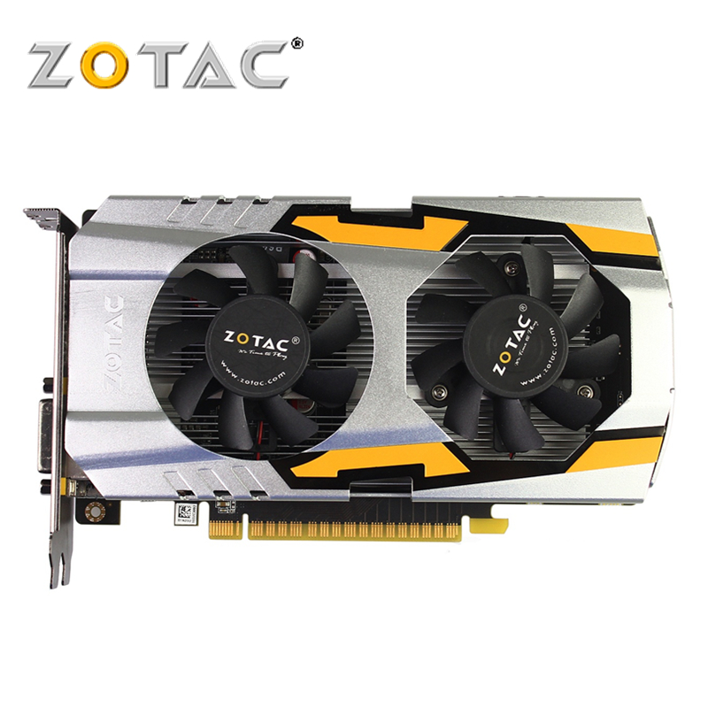 ZOTAC Video Card GeForce GTX 650-1GD5 GDDR5 Graphics Cards For NVIDIA Original Map GTX650 1GB Devastators TSI HA 1GD5 Hdmi Dvi