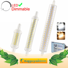 LED R7S Lamp AC 85-265V J78 J118 J135 Led Bulb Dimmable Corn Lamp 78mm 118mm 189mm Replace Halogen 50W Floodlight Spot Light стоимость