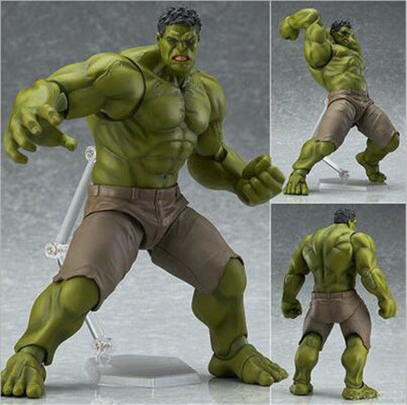 Marvel Avengers Hulk Anime Movable Action Hero Figure Toy Doll Model Kids Gift