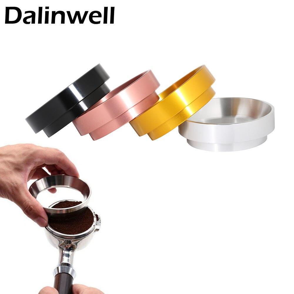 Alluminio IDR Intelligente Dosaggio Anello Per La Produzione di Birra Ciotola di Polvere di Caffè Espresso Barista Strumento Per 58 51 54 MILLIMETRI Profilter Caffè tamper