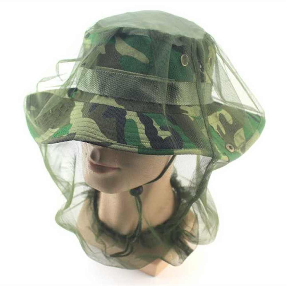 Midge Mosquito Insect Hat Bug Mesh Head Net Face Protector Travel Camping Travelling Backpacking Camping Fishing beekeepers Hot