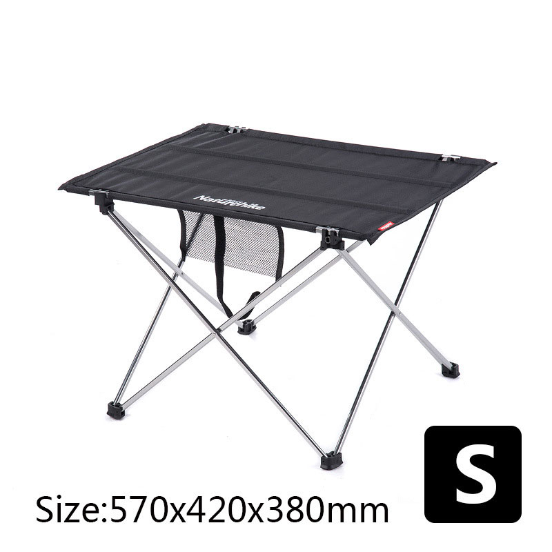 Image 5 - Table Outdoor Furniture Size S L Desk Modern Furniture Al Alloy Oxford Fabric Minimalist Tables Khaki Black Rectangle Table-in Outdoor Tables from Furniture