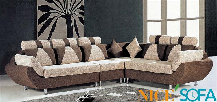 Simple fabric sofa set designs 915in Living Room Sofas