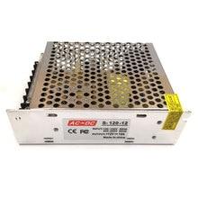 Высококачественный трансформатор переменного тока в постоянный ток, источник питания 12 В, 10 А, адаптер для светодиодного драйвера 120 Вт для светодиодных лент, лампочек «сделай сам»