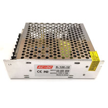 高品質acにdc照明トランス電源12ボルト10a ledドライバアダプタ120ワット用ledストリップライトdiyランプ電球