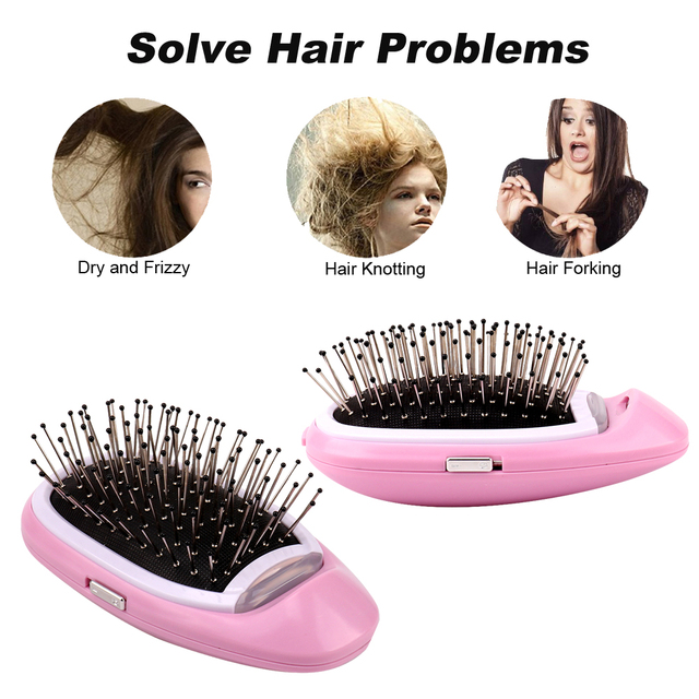 Portable Electric Styling Hairbrush  3