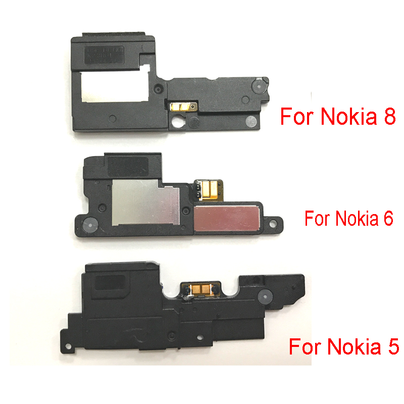 New Loudspeaker For Nokia 5 6 8 3 7.1 6.1 Plus X5 X6  Loud Rear Speaker Buzzer Ringer With Flex Cable Replacement Parts