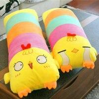 Hot 70cm Cute Expression Chicken Plush Toys Plush Duck Cloth Doll Soft Sleep Pillow Cushion Christmas