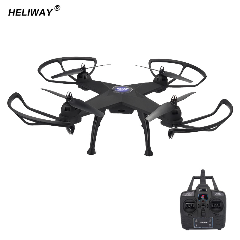 HELIWAY Original RC Drone Big Size 6 Channel 6-Axis Gyro Drone 2.4GHz Big Helicopter Headless Mode RC Quadcopter Toys for Boys держатель универсальный bosch 2607002584