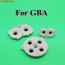 1 seconde couleur grise pour GBA caoutchouc coussinets conducteurs boutons réparation remplacement pour Nintendo jeu garçon avance bouton en caoutchouc