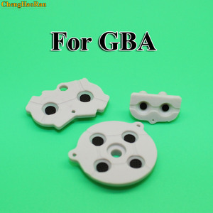 Image 1 - 1Sset Gray color For GBA Rubber Conductive Pads Buttons Repair Replacement For Nintendo Game Boy Advance Rubber Button