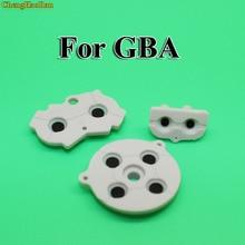 1ssetグレー色gba用ゴムの導電パッドボタン修理交換任天堂のゲームボーイアドバンスゴムボタン