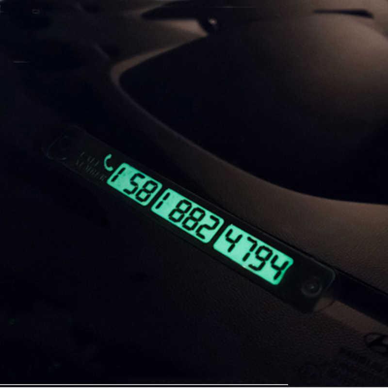 Alijunda 15*2 см временная парковка телефонный номер карты для серии Mercedes-Benz-A B C e S G ml GLK CL CLK CLS GL GLK R SL SLK