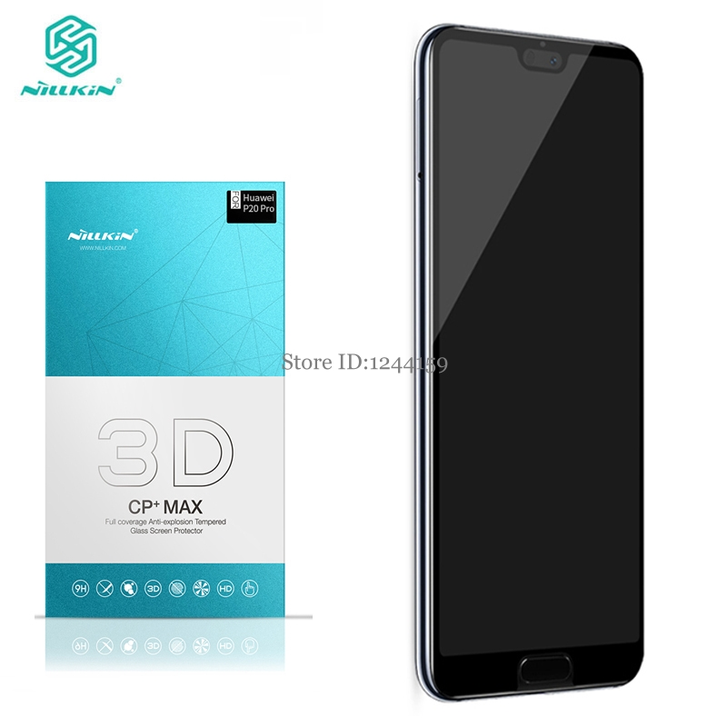 for Huawei P20 Pro screen protector ful covered nillkin 3D CP+ Max 9H 0.33mm thin for huawei P20 pro tempered glass curved clear-in Phone Screen Protectors from Cellphones & Telecommunications