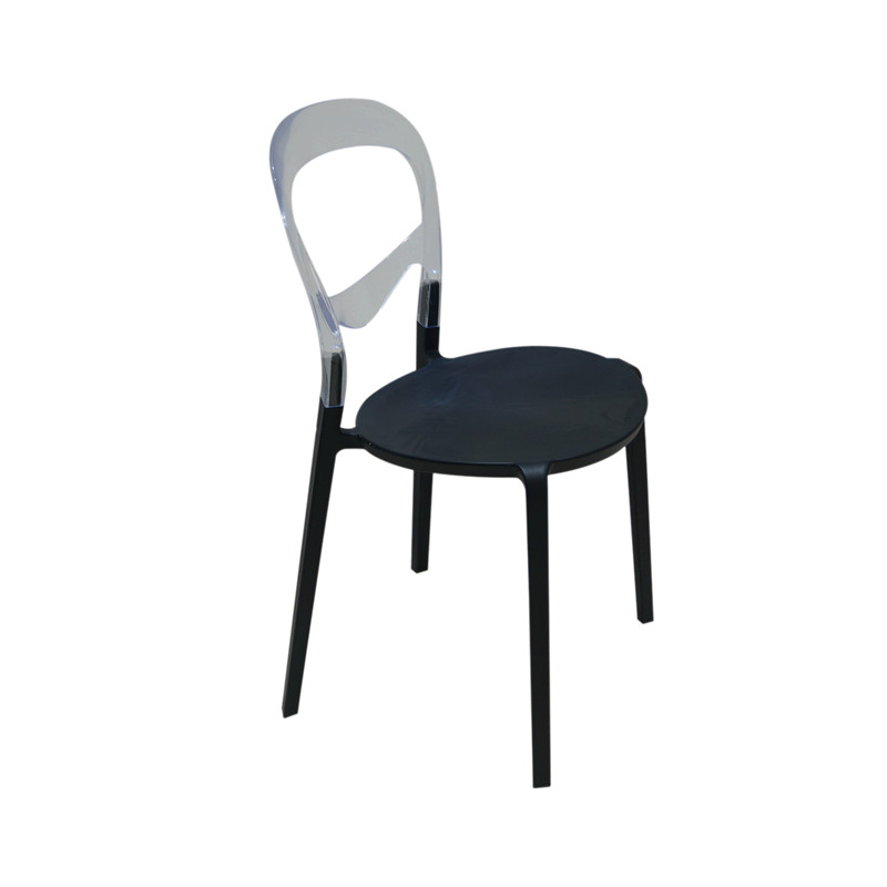 Fashion plastic dining chair. PP and PC production. Beautiful appearance. Durable. degradable plastic mulch in winter rapeseed production
