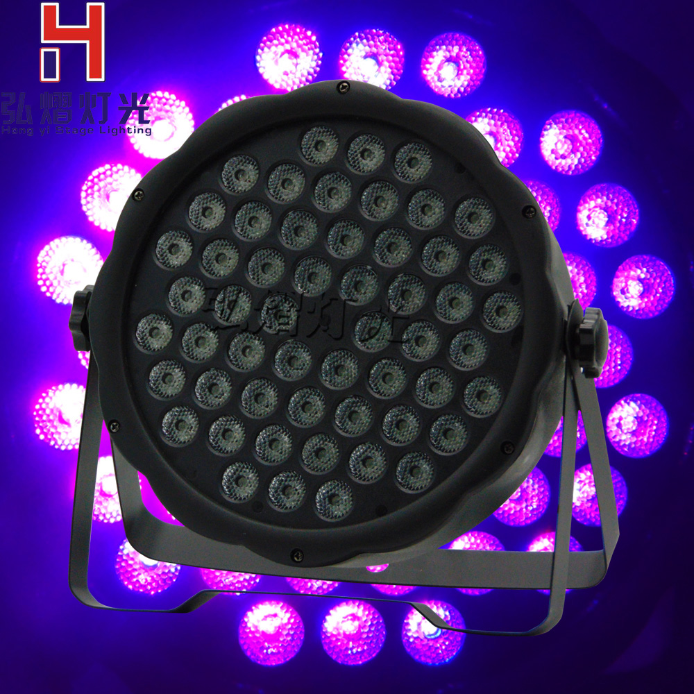 Audacious Hot Sell 54 Lights & Lighting 3w Par Led Dyed Plastic Flat Led Par Rgb Wash Wedding Decorative Studio Theatrical Dj Stage Lighting Fine Quality