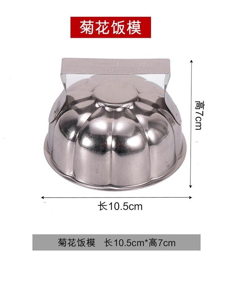arroz de abóbora mould cozinha ferramenta de fritura de alimentos