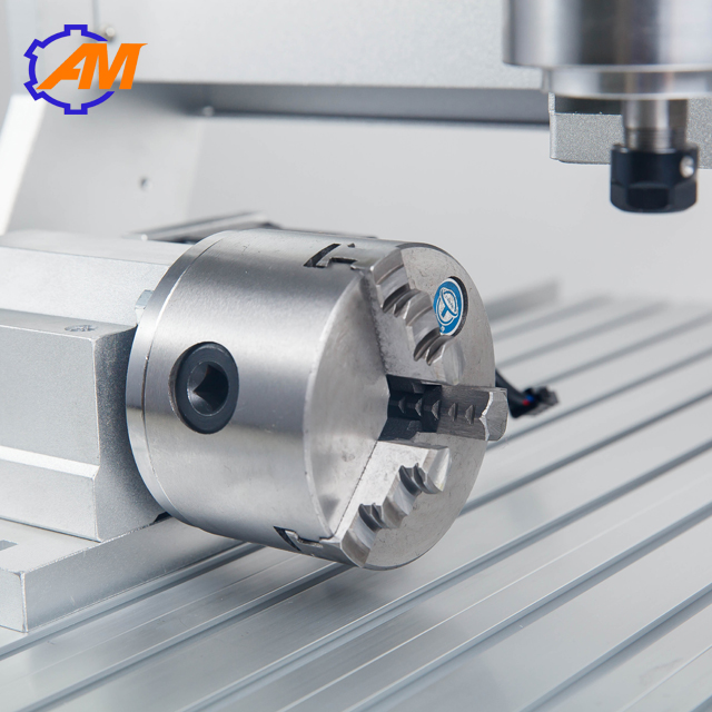 Nouveau produit table CNC fraiseuse 4 axes CNC routeur 3040 pour métal aluminium PCB - 4