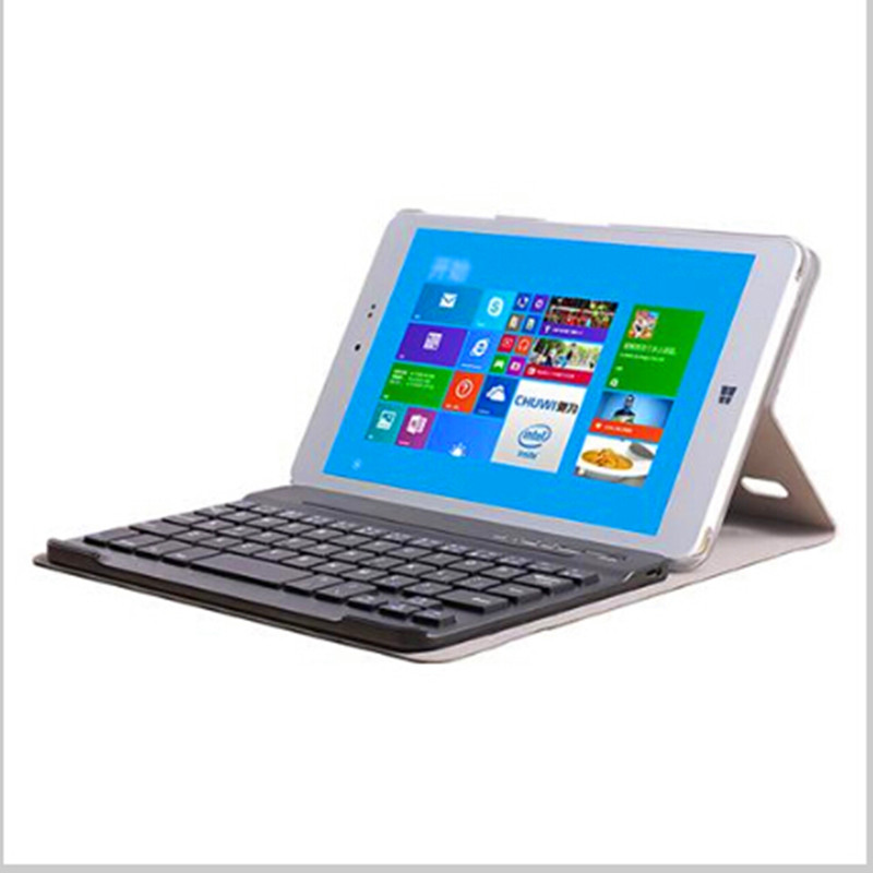 Removable Bluetooth Keyboard With PU Leather Case For 8 Inch CHUWI HI8 HI8 Pro Vi8 Plus