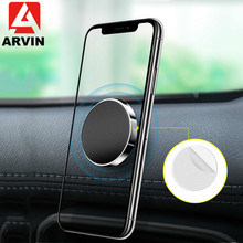 Arvin Magnetic Car Phone Holder in For iPhone X XR XS 8 7 Universal Multifunction Mobile Stand Mount Samsung S8 S9