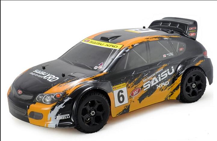 Car Club Inc: 1/9 Scale 4wd Nitro Powe Rally Car RC Car Kit Without