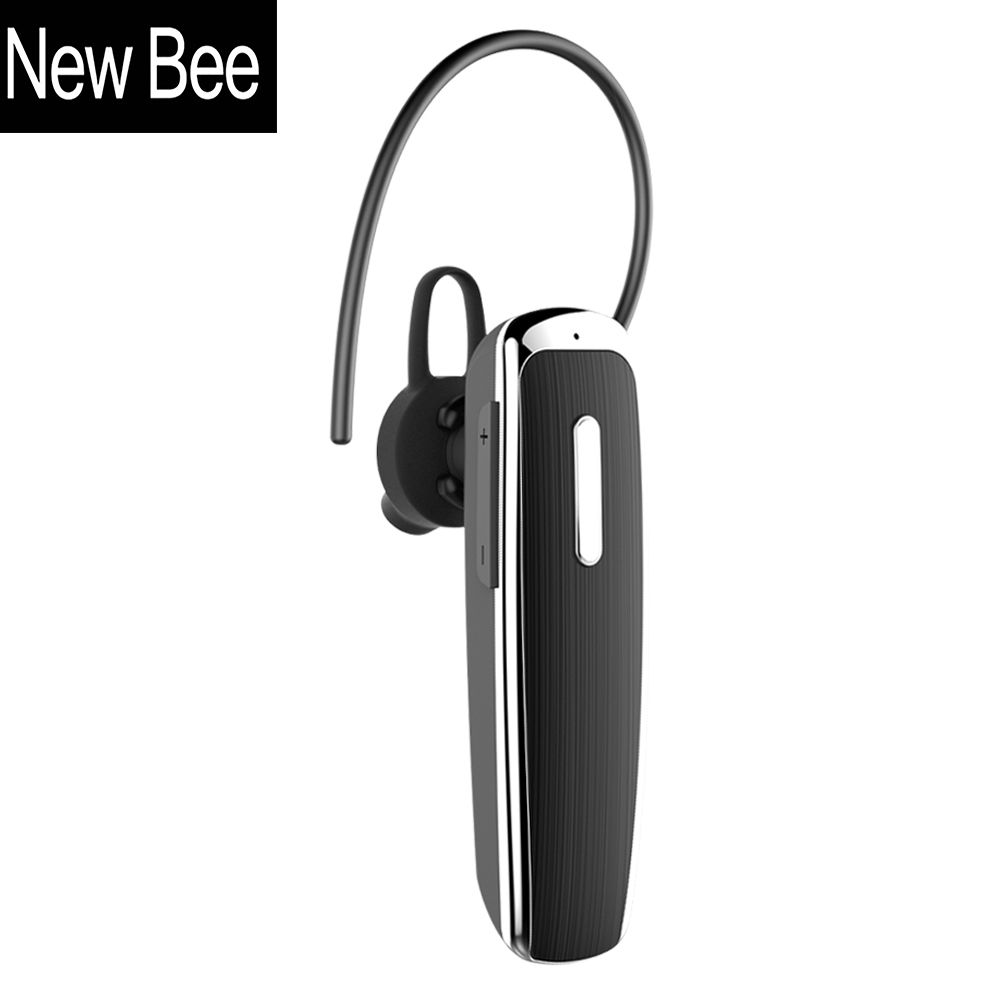 New Bee Portable Hands-free Wireless Bluetooth Earphone Headphones Headset Earbud with Microphone Earphone CSR4.0 for Phone PC finefun new bee bluetooth headphones bluetooth headset wireless headphones earphone for ios android phone smartphone table pc