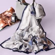 Women Real Silk Shawls Wraps Soft Breathable 100% Silk Scarf 170x65cm Summer Bea