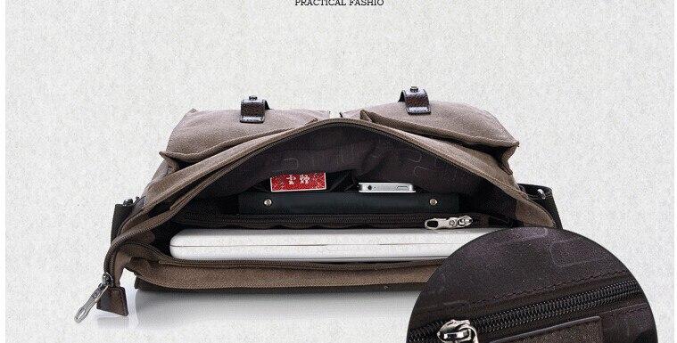 High Quality briefcase canvas
