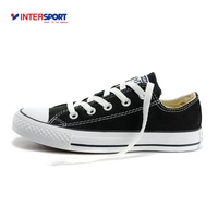 Intersport New Arrival Authentic Converse Classic Canvas Low Top Skateboarding Shoes Unisex Anti Slippery Sneakser