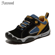 2017 child sport shoes scrub genuine leather boys sports shoes fashion sneakers