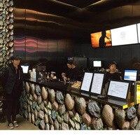 Twórczy Imitacja Kamienia Samoprzylepne Tapety Roll Bar Mebli Gabinetowych Wystrój Domu Ścienne Tapeta Plakat 17.72