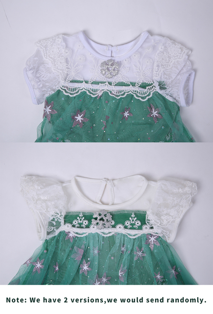 Girls Party Dress Elsa Anna Dress