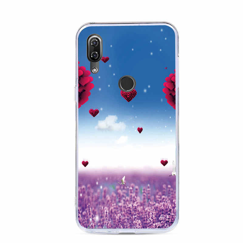J & R Soft TPU Case Voor Wiko View2/View 2 Pro/View Go/View Max/ view Lite/View Prime Siliconen Cover Cartoon Dieren Bloem Gevallen