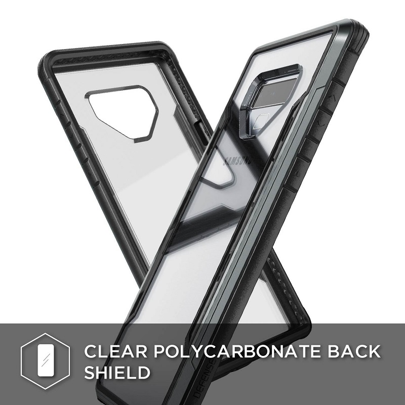 Image 4 - X Doria Defense Shield Phone Case For Samsung Galaxy Note 9  Military Grade Drop Tested Case Cover For Note 9 Aluminum Cover  CapaFitted Cases