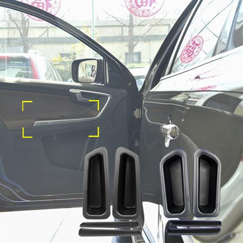 Untuk Volvo XC60 2010-2017 Pintu Mengendalikan Armrest Storage Box - Aksesori dalaman kereta - Foto 6